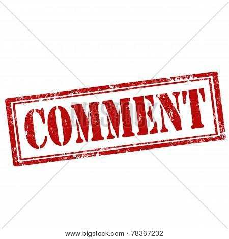 Comment-stamp