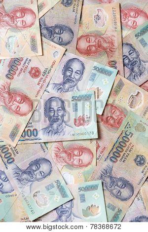 Various Vietnamese Currency