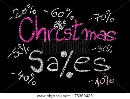 Christmas Sales conceptual image