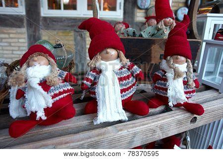 Creative Christmas Dolls