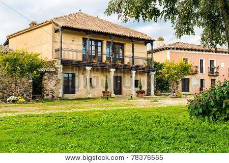 House in the village of Granadilla