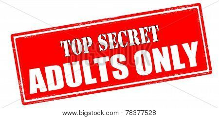 Top Secret Adults Only