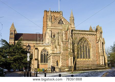 St.albans, Uk - 26 January 2013  - Cathedral And Abbey Church