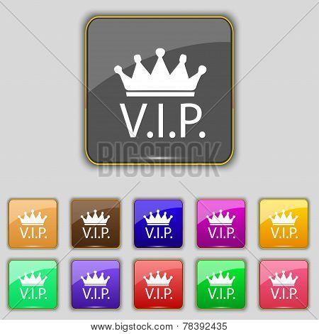 Vip Sign Icon