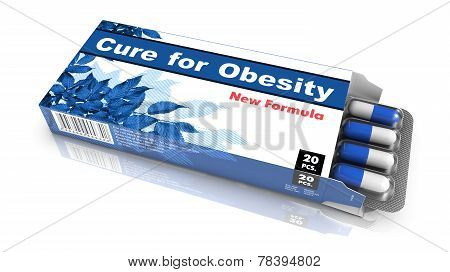 Cure for Obesity - Blister Pack Tablets.