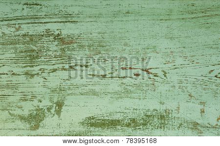 Grunge background. peeling paint on an old wooden board