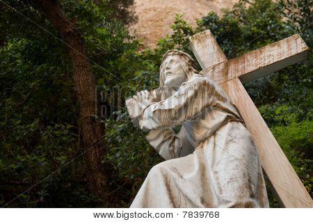 Jesus Carrying The Cross
