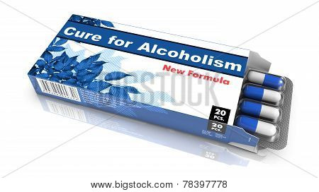 Cure for Alcoholism  - Blister Pack Tablets.