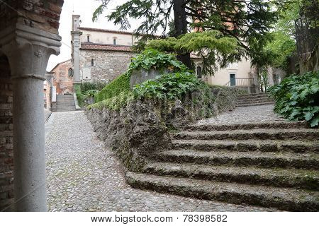 To The Castle Of Udine, Italy