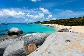 pic of virginity  - Stunning beach with white sand - JPG
