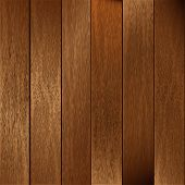 pic of wooden fence  - Background vector illustration of wooden fencing planks - JPG