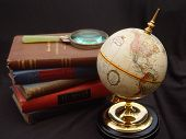 Globe with Books3