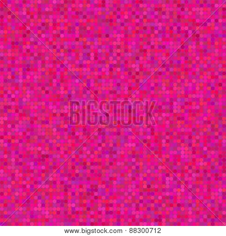 Seamless pink polka dot pattern