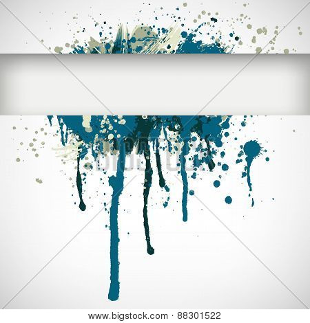 Abstract vector Illustration. Flat banner with place for text.