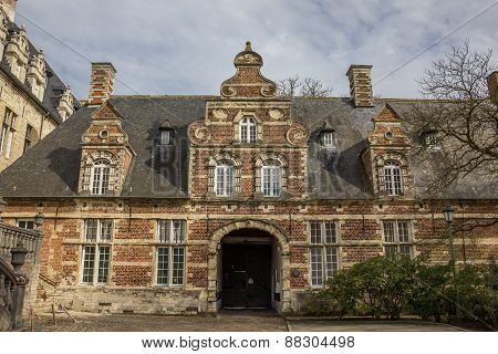 Old Building Of The Park Abbey Near Leuven