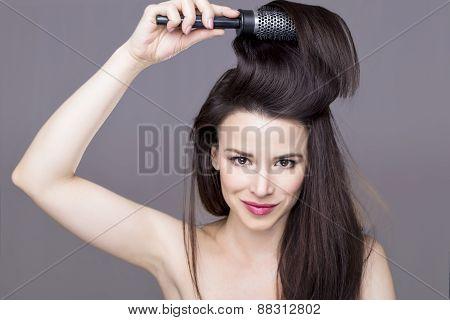 Girl brush