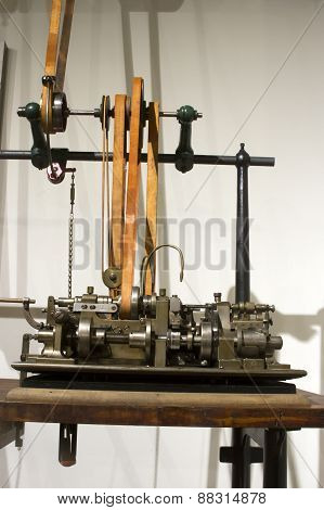 Antique Automated Watch Screw Machine