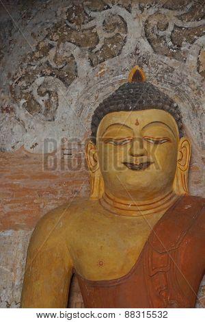 Buddha Statue In Ywa Haung Gyi