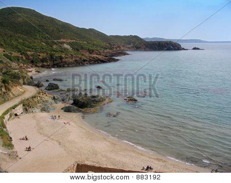 Sardinia Coastline, Masua Beach