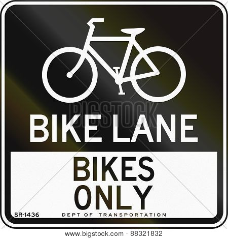 Bike Lane - Bikes Only