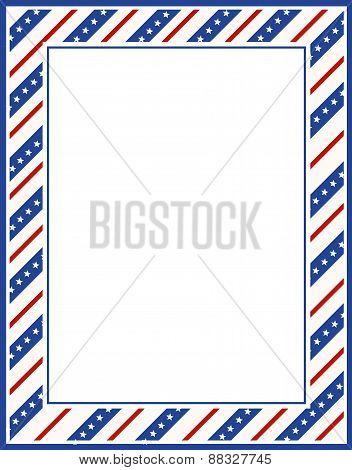 Patriotic Border / Frame