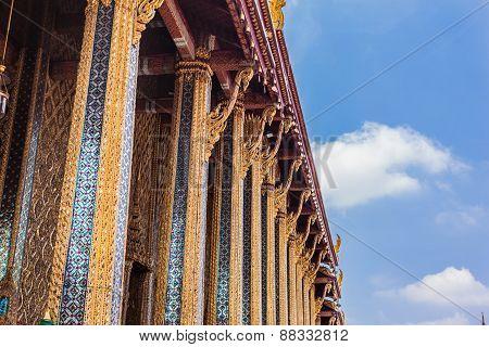 Wat Phra Kaew Columns