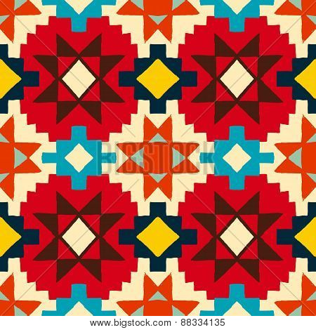 Native american geometric pattern