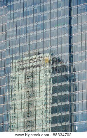 Glass Windows, business building exterior