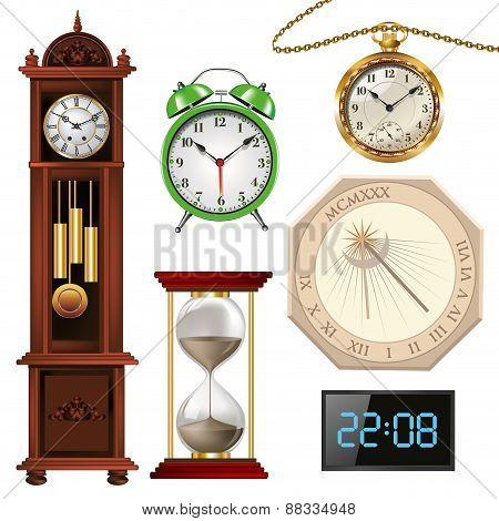 Different Types Of Clocks