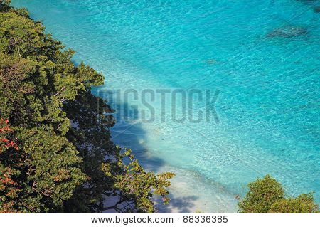 View From A Viewpoint On The Island Miang, Similan Islands, Thailand