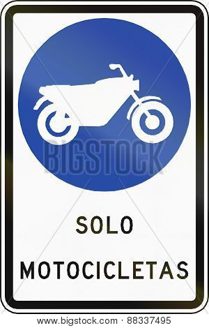 Motorcycles Only In Chile