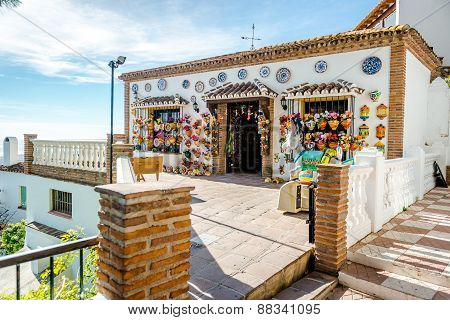 Souvenir Shop In Mijas