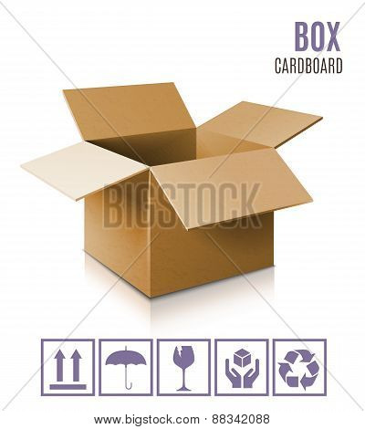3d box icon.