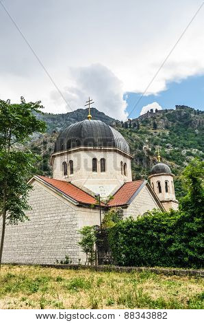 View On Church In Kotor Fortress