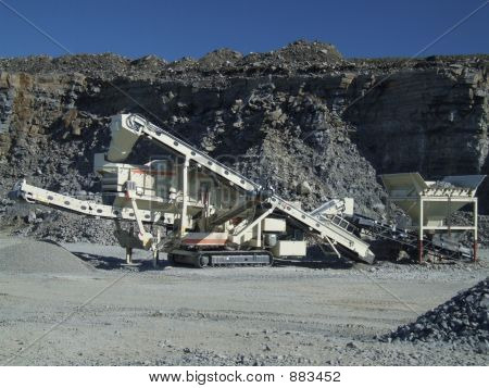 Quarry Conveyor Belt Machine