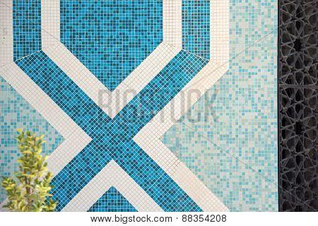 Mosaic ceramic pattern