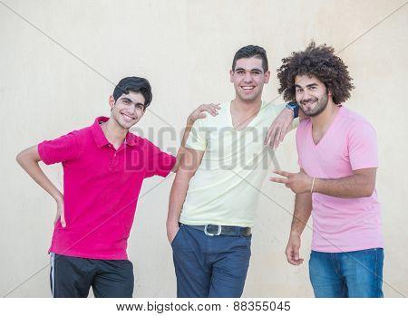 Young handsome men