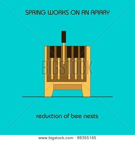 Reduction Of Bee Nests (spring Work)