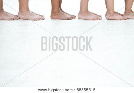 Children legs