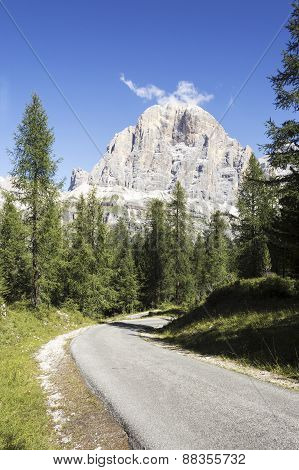 Portrait Of The Italian Alps
