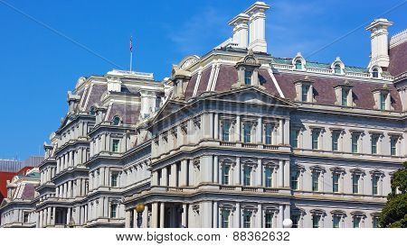 Eisenhower Executive Office Building in Washington DC USA.
