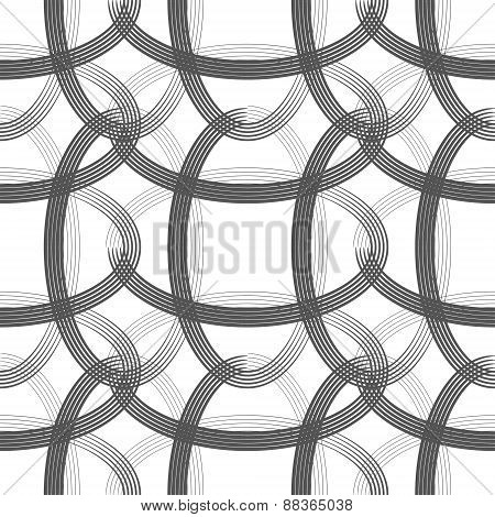 Retro Ellipses Seamless