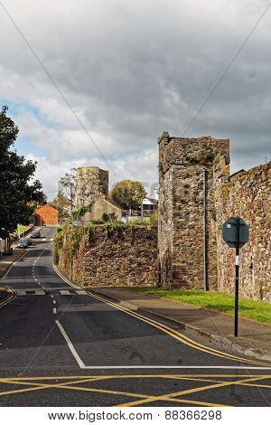Old Town Walls.waterford