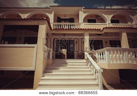Hotel on Zakynthos, Greece, travel picture