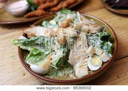 Plate With Chicken Salad