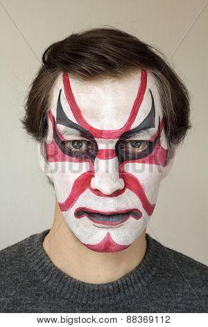 Face Painting Kabuki