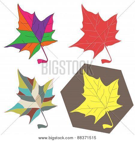 Maple Leave Set