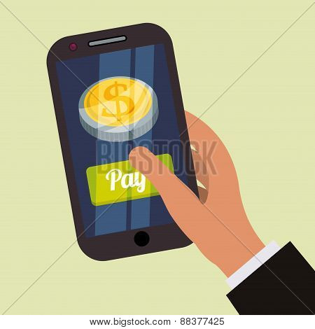 Digital payment design.