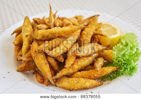 Small fried fish