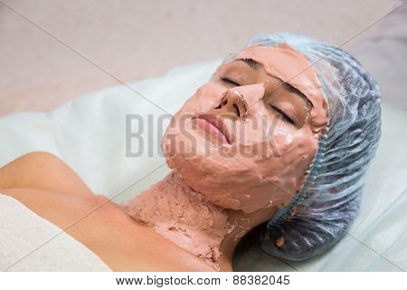 Facial massage. Cosmetic procedures facial massage.